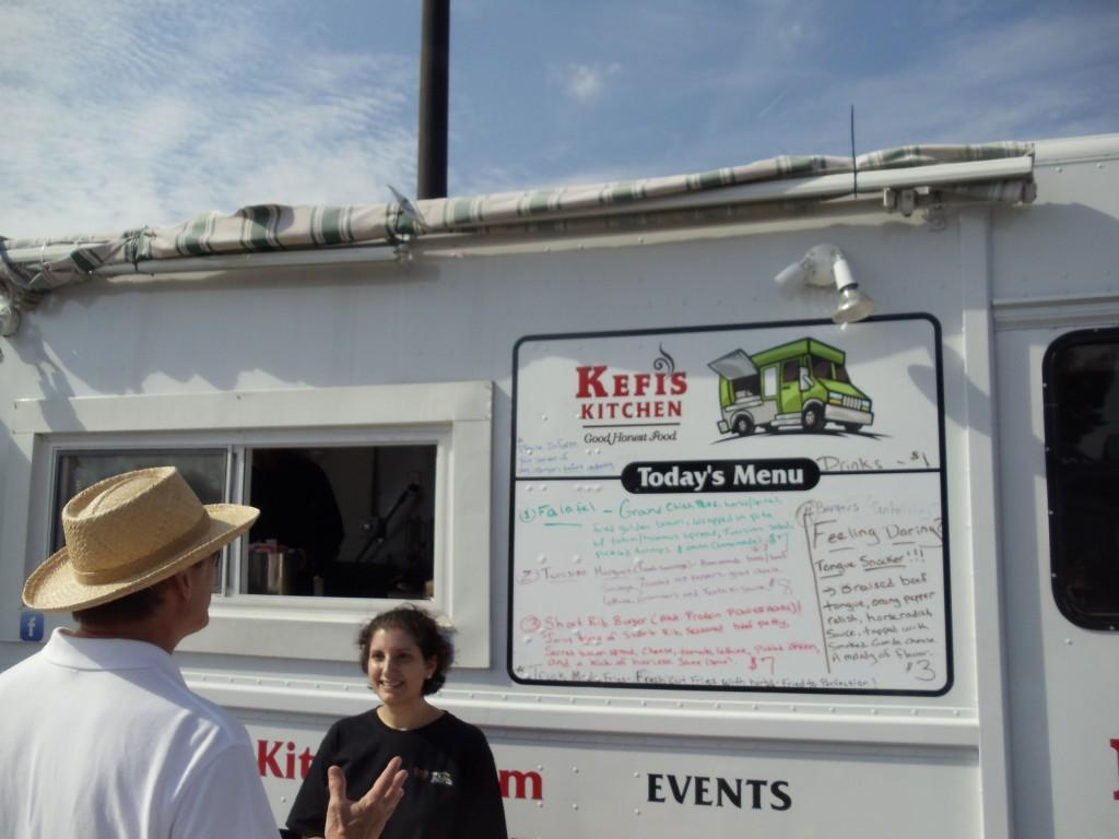 Kefi's Kitchen at the Framingham Food Truck Festival